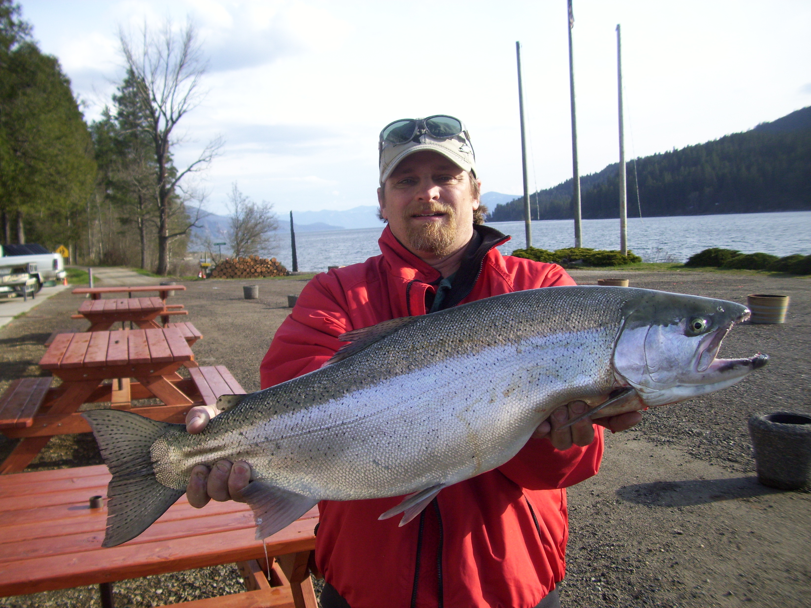 how to catch fish in lake pend oreille