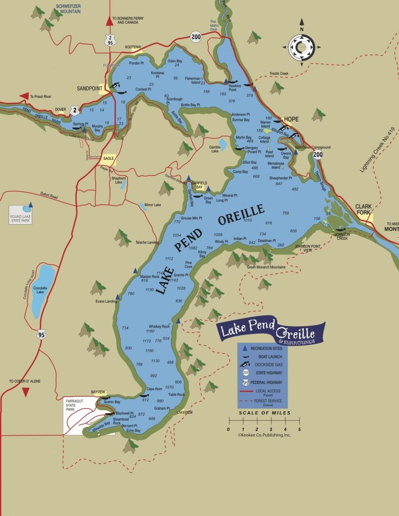 Lake Pend Oreille Map copy