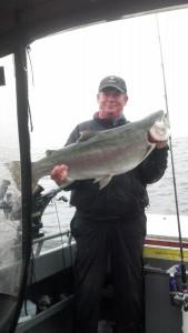 Ralph Lotspeich-Patch Fish-27.04 lb Rainbow caught 11/07/13