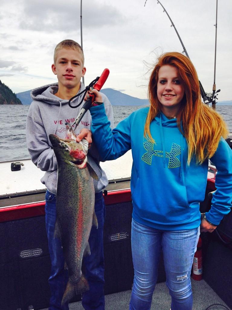 Sage Cooper- 33 inch Rainbow October 2014