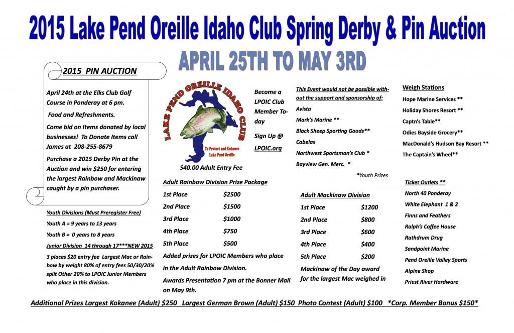 Spring K&K Fishing Derby