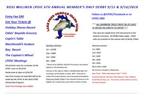 LPOIC's 2018 Annual Ross Milliken Members Only Derby